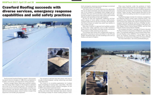 Crawford Roofing Featured in Canada Design and Construction Report Magazine